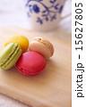 マカロン デザート 洋菓子の写真 15627805