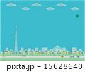 ベクター タワー 青空のイラスト 15628640