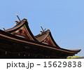 「吉備津神社」本殿と拝殿(吉備津造・比翼入母屋造) 15629838