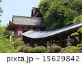 「吉備津神社」南随神門と回廊、本殿の屋根 15629842