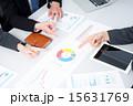 ビジネスウーマン 資料 ビジネスマンの写真 15631769