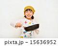 料理をする女の子 15636952