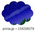 天の川 星屑 星空のイラスト 15638079