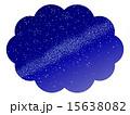 天の川 星屑 星空のイラスト 15638082