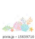 貝と珊瑚 15639710