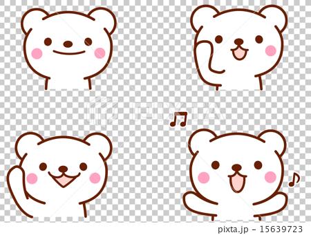 熊的臉 15639723