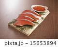 切り身 鮭 いくらの写真 15653894
