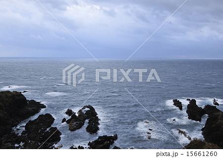 【男鹿半島】冬の日本海 15661260