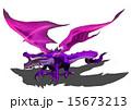 龍 ドラゴン 紫龍のイラスト 15673213