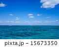 沖縄県 小浜島 海の写真 15673350