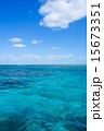 沖縄県 小浜島 海の写真 15673351