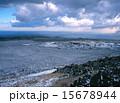 冬の伊豆大島三原山 15678944