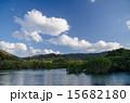 沖縄県 吹通川 川の写真 15682180