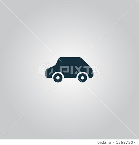 toy car logo template vector icon のイラスト素材 15687507 pixta