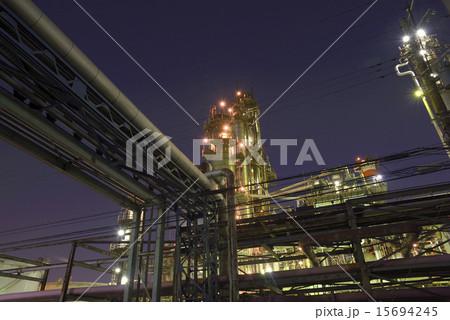 浮島町 工場夜景 15694245