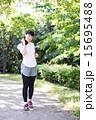 エクササイズ ウォーキング 女性の写真 15695488