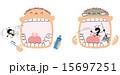 漫画 虫歯 ベクターのイラスト 15697251