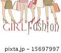 Beautiful girls on shopping 15697997
