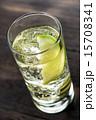 バブル カクテル ライムの写真 15708341