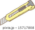 切る カッター ベクターのイラスト 15717808
