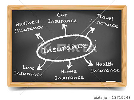 insurance diagramのイラスト素材 [15719243] - PIXTA