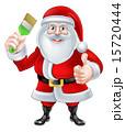 クリスマス サンタクロース ドローイングのイラスト 15720444