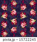 花柄 ベクター 模様のイラスト 15722245