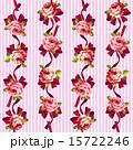 花柄 ベクター 模様のイラスト 15722246
