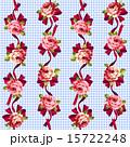 花柄 ベクター 模様のイラスト 15722248