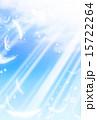 舞う 羽 空のイラスト 15722264