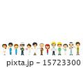 職業 バリエーション 女性のイラスト 15723300