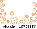 色鉛筆の削りカスで描いた花畑 15726555