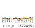 様々な職業の人々【二頭身・シリーズ】 15728451
