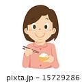 ベクター 子供 食べるのイラスト 15729286