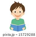 読む ベクター 子供のイラスト 15729288