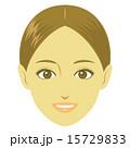 女性の顔 15729833