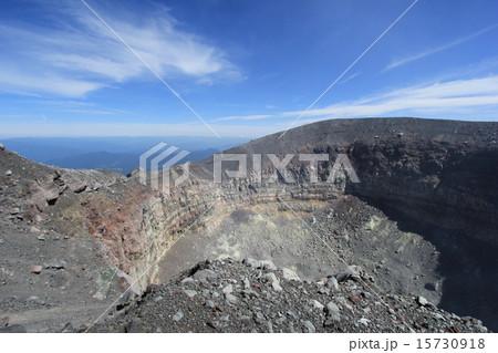 浅間山の噴火口 15730918
