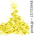 降る 紙幣 一万円札のイラスト 15733948