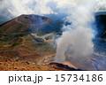噴煙上がる吾妻連峰・・一切経山から浄土平方面 15734186