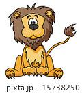 絵 ライオン ベクタのイラスト 15738250