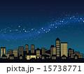 天の川 ベクター 夜空のイラスト 15738771