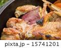 ダッヂオーブン料理手羽と芋 15741201