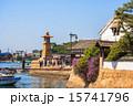鞆の浦 燈籠 常夜灯の写真 15741796