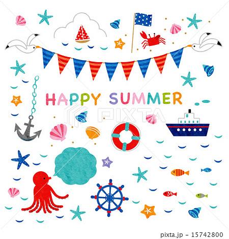 素材-HAPPY SUMMER1 15742800
