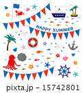 素材-HAPPY SUMMER2 15742801