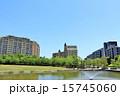 マンション 初夏 青空の写真 15745060