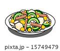 ゴーヤ 沖縄料理 苦瓜のイラスト 15749479