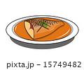 鯖 鯖の味噌煮 味噌煮のイラスト 15749482