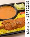 タンドリーチキン カレー 弁当の写真 15752219