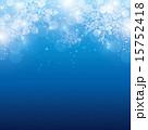 背景 雪の結晶 ベクターのイラスト 15752418